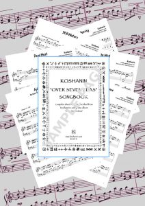 Koshanin - Over Seven Seas SONGBOOK