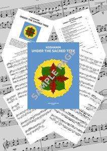 Under the Sacred Tree - Album SONGBOOK